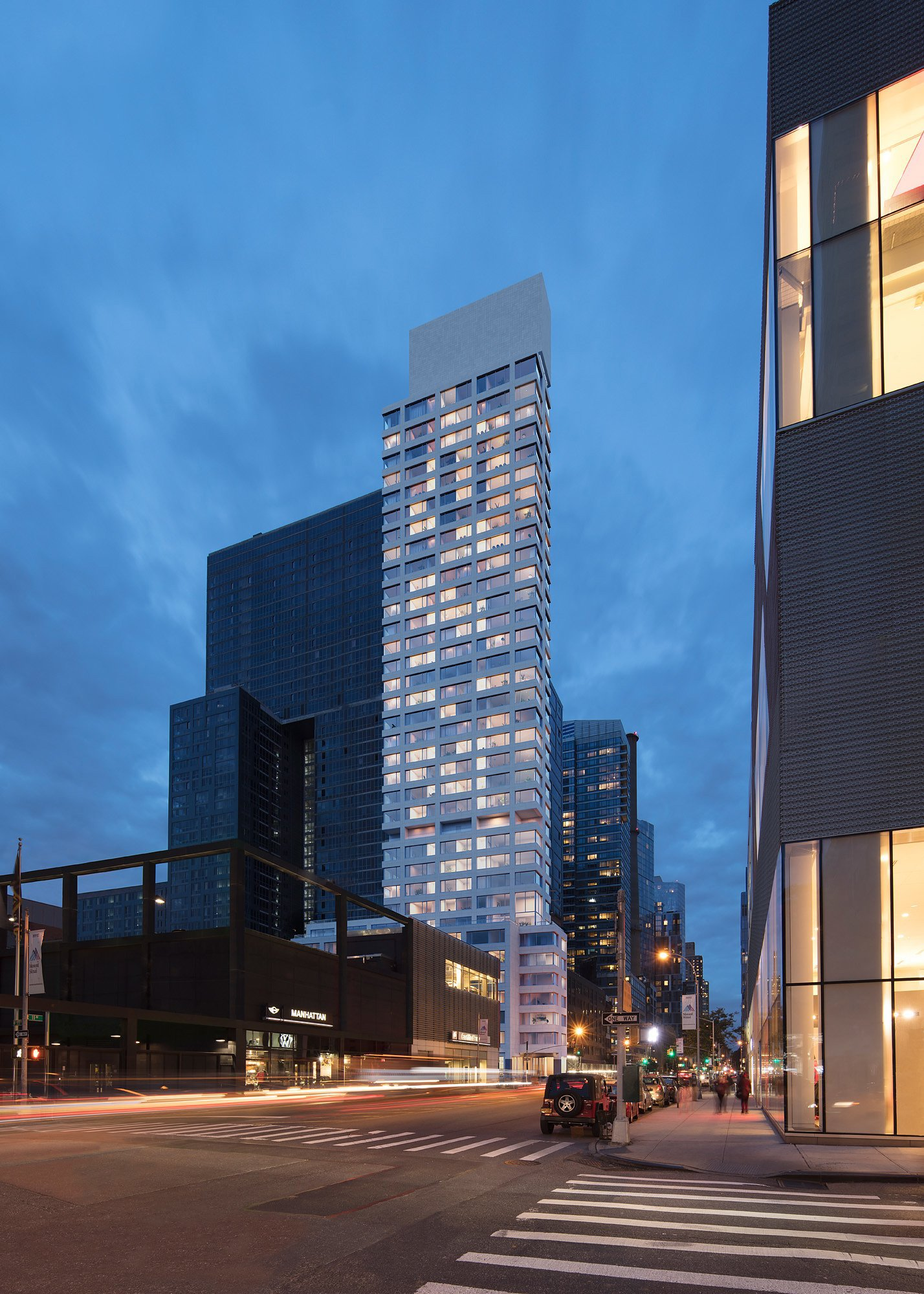193 Lvaro Siza S New York Tower 611 West 56th Street Fully
